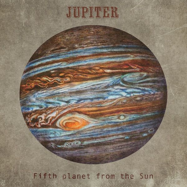 Jupiter - my favourite planet. | Planets art, Planet ...