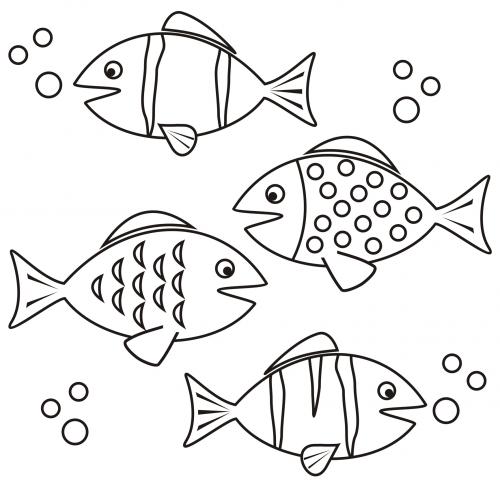 Coloring Page Fish Kidspressmagazine Com Coloring Pages Animal Coloring Pages Doodle Drawings