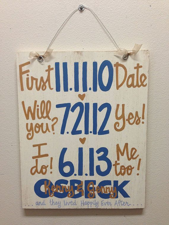I love this sign that my mom got for me as a shower gift i cant i cant wait to be an osbeck custom handpainted wedding anniversary by whatchawantdesign gifts gifts it yourself solutioingenieria Image collections