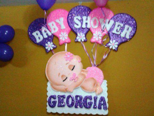 letreros para baby shower con fomi en color amarillo - Buscar con ...