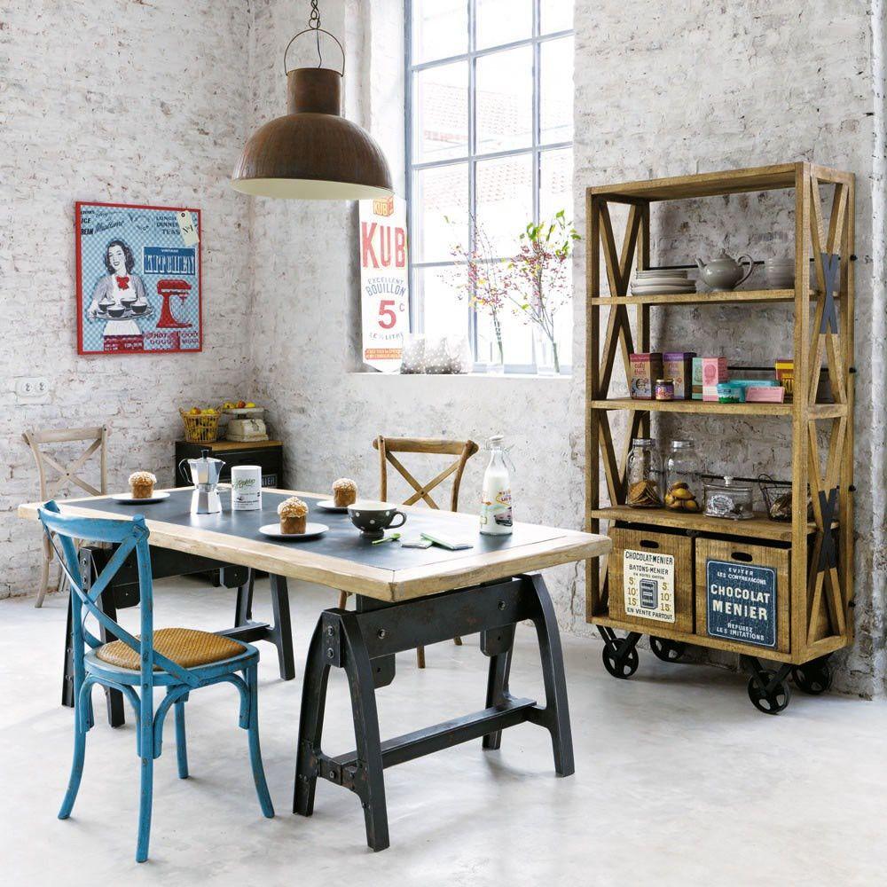 10 ambientes con decoraci n industrial y vintage for Decoracion industrial online