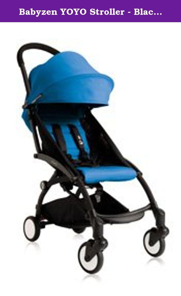 Babyzen YOYO Stroller - Black - Blue. DELIVERY ALERT: This item ...