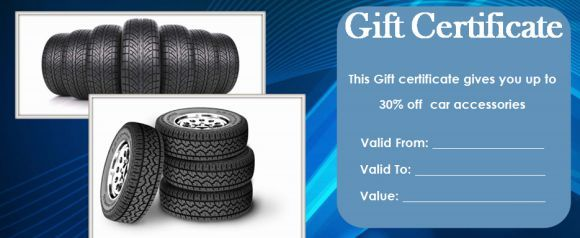 16 Personalized Auto Detailing Gift Certificate Templates ...