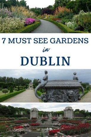 Visit These Seven Free Beautiful Dublin Ireland Gardens Merrion Square