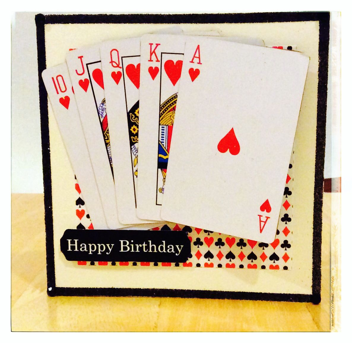 Happy Birthday Card For A Poker Lover (With Images