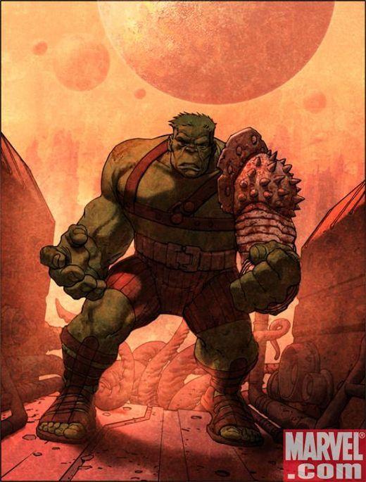 #Hulk #Fan #Art. (Hulk: Planet Hulk HC cover) By: Jose Ladrönn.