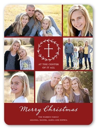 Center of it all 6x8 greeting card christmas cards shutterfly center of it all 6x8 greeting card christmas cards shutterfly m4hsunfo