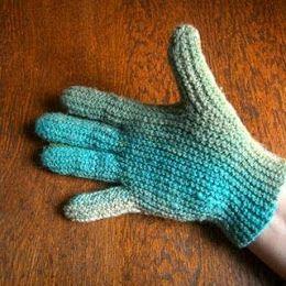 4-ply Sideways Gloves | Knitting gloves pattern, Crochet ...