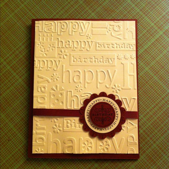 Simple birthday card crafty ideas pinterest simple birthday simple birthday card m4hsunfo