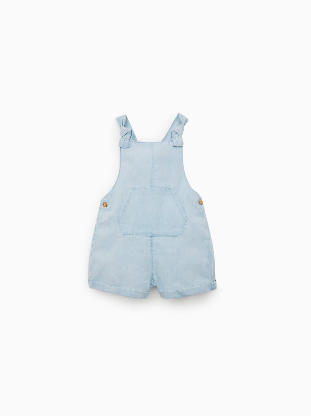 d3d0b97683 Flowy denim overall shorts | Baby Girl Layette | Dungarees shorts ...