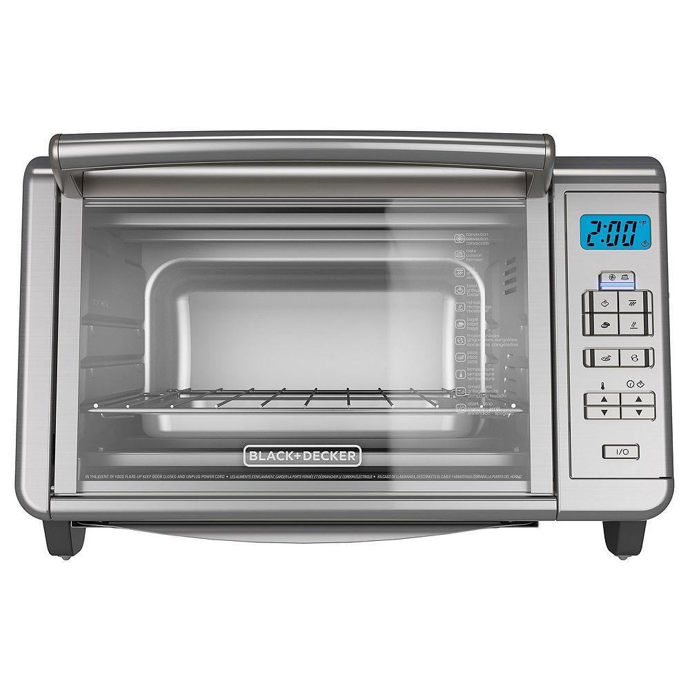 Black Decker Dining In Digital Toaster Oven Digital Toaster Oven Toaster Oven Cooking Black Decker Toaster
