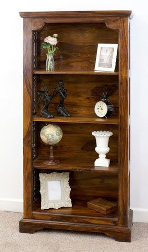 quality design 4864a ae760 Details about Indian Jali Medium Bookcase Solid Sheesham ...