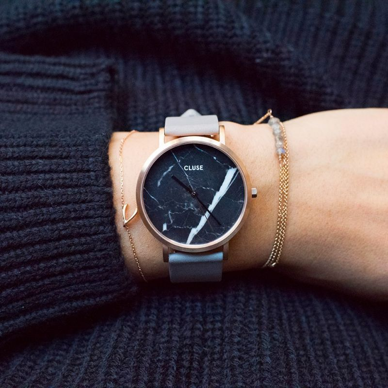 14238b9dc488ba CLUSE La Roche Rose Gold Black Marble Grey CL40006   Cute thing and ...