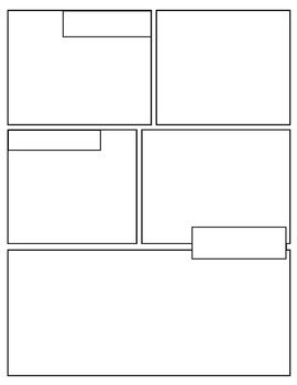 free graphic novel comic book templates today s focus