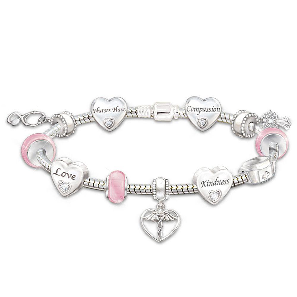 Nurse S Serenity Prayer Diamond Pendant Necklace Nurses