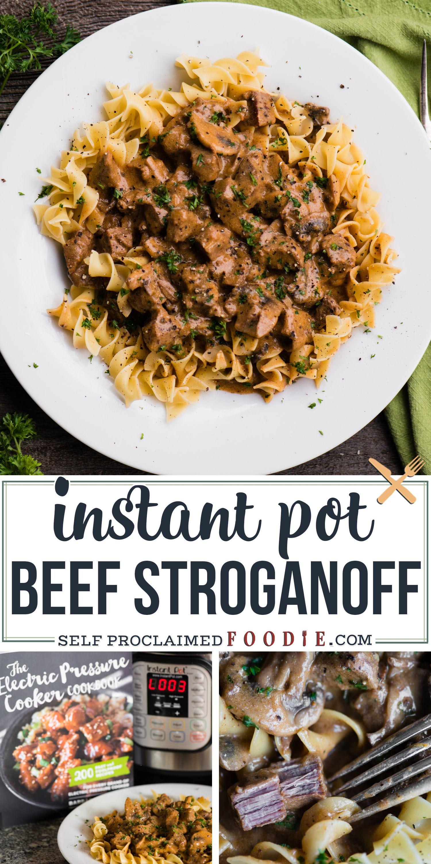 Instant Pot Beef Stroganoff Instant Pot Dinner Recipes Beef Stroganoff Instant Pot Beef