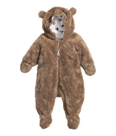 d49fd6f9f H M baby bear suit. How freaking adorable.
