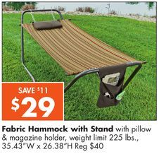 big lots   fabric hammock with stand from big  big lots   fabric hammock with stand from big lots  29 00  save      rh   pinterest