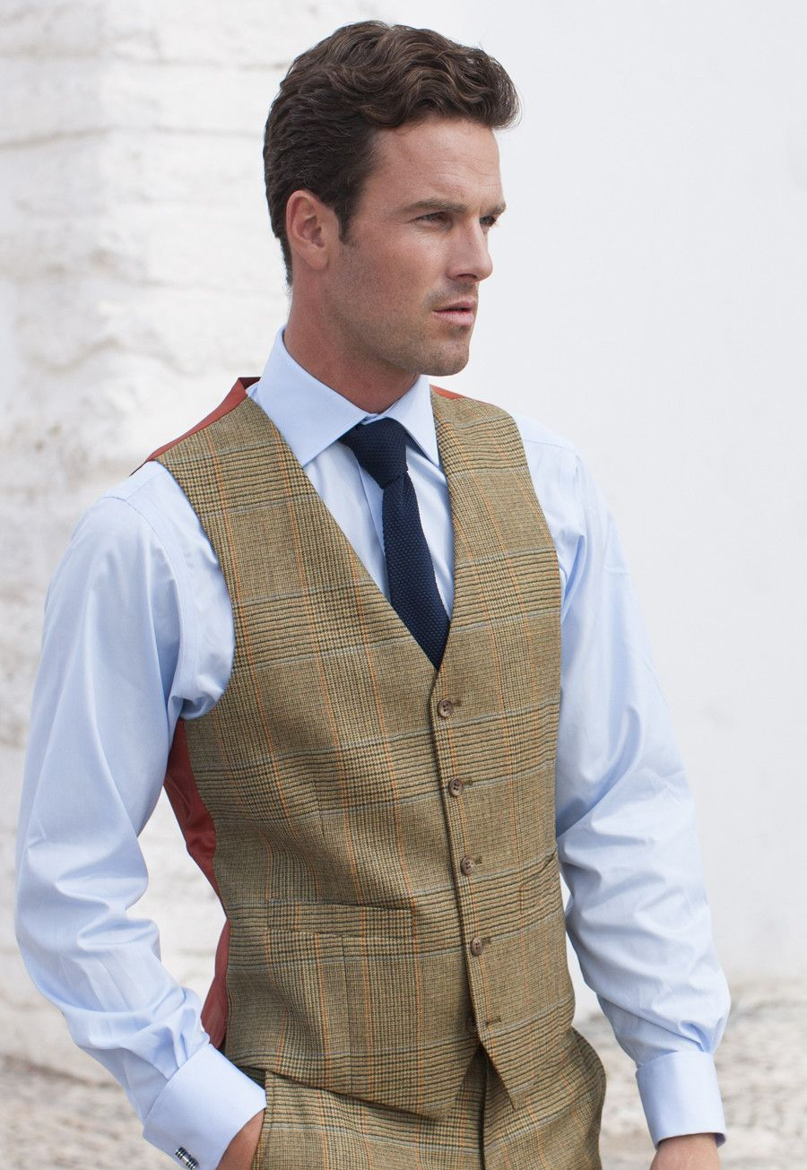 popular style big collection discount collection Country Suit Waistcoat, Summer Tweed - Mix & Match Suit ...