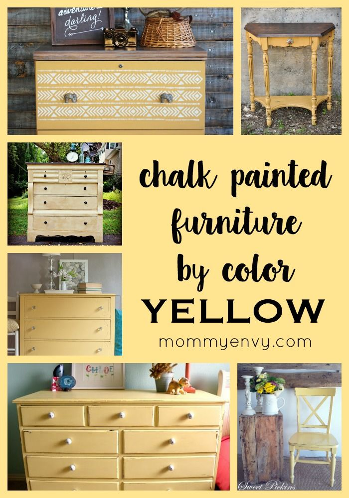 Color Envy - Chalk Painted Furniture by Color Series | Pinterest ...