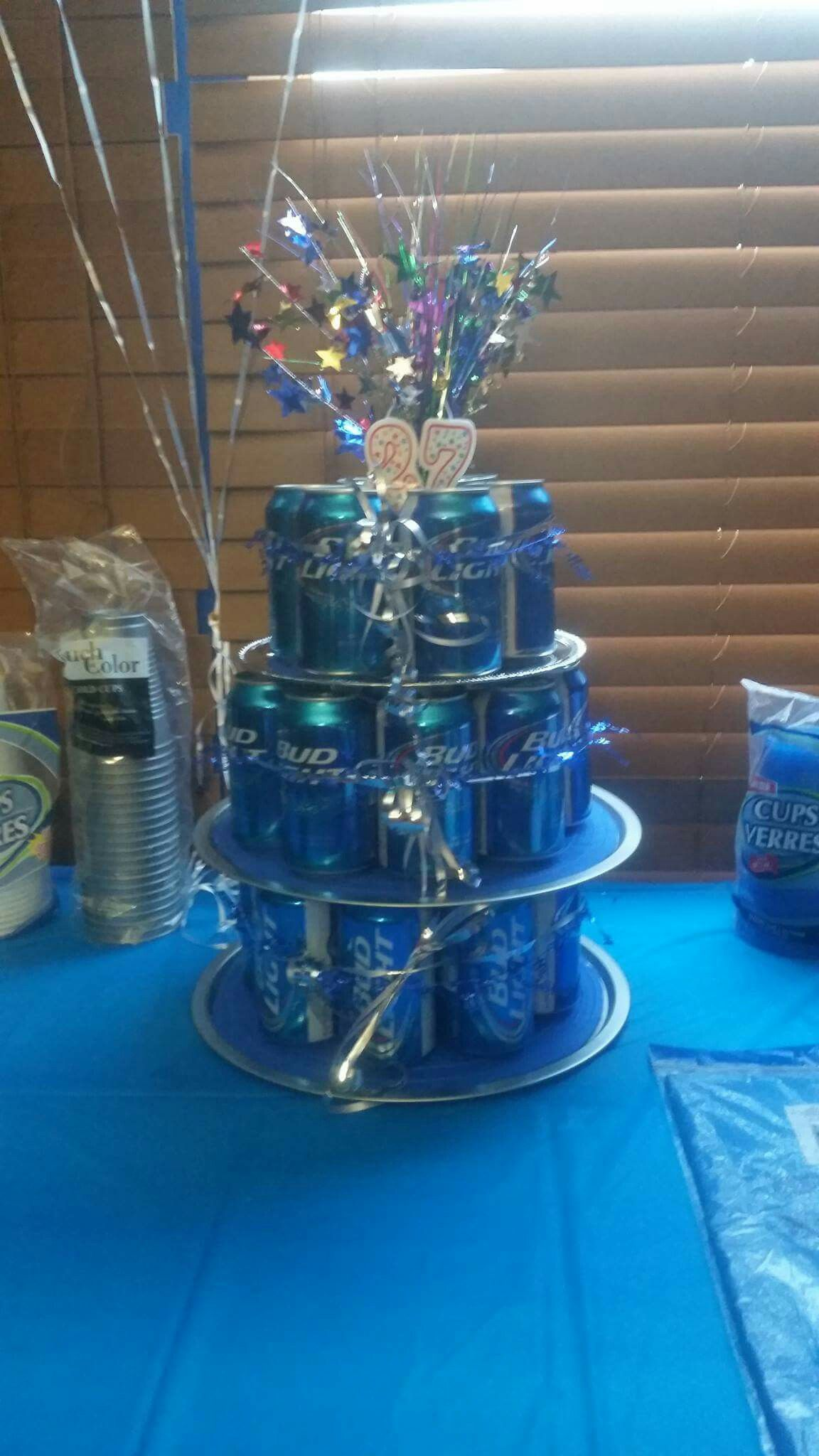 Budweiser 3 Tier Display Ready To Drink Made By My Son In Law Mother Connie Robinson