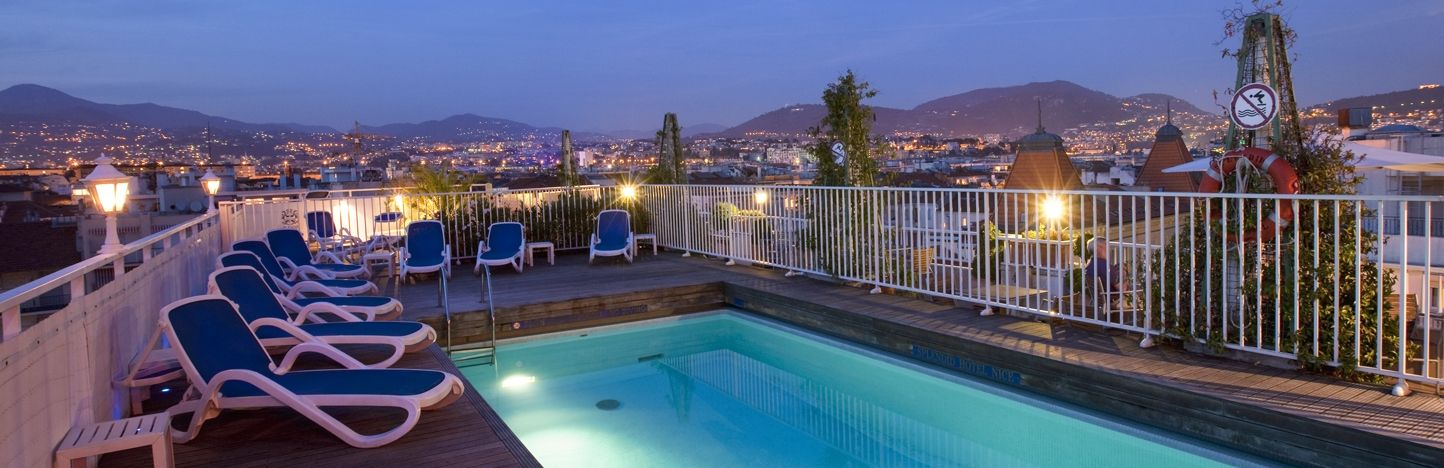 Splendid Hotel & Spa - Nice, France  A four-star boutique hotel on the French Rivierra, located in a quiet, residential area in central Nice.