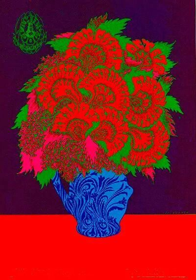Blue Cheer, Lee Michaels, and Clifton Chenier at The Avalon Ballroom, 1967. Artist: Victor Moscoso.