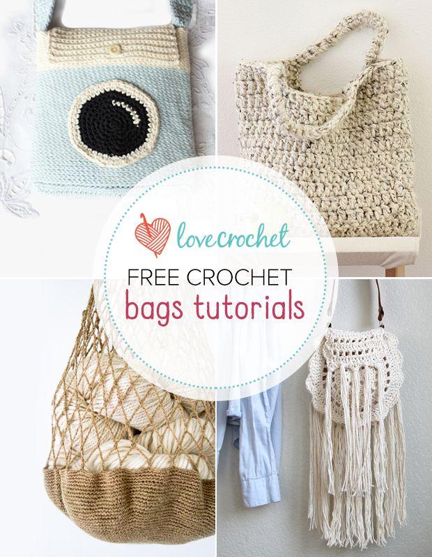 Pinteresting Projects: Cool crochet bags (LoveCrochet Blog ...