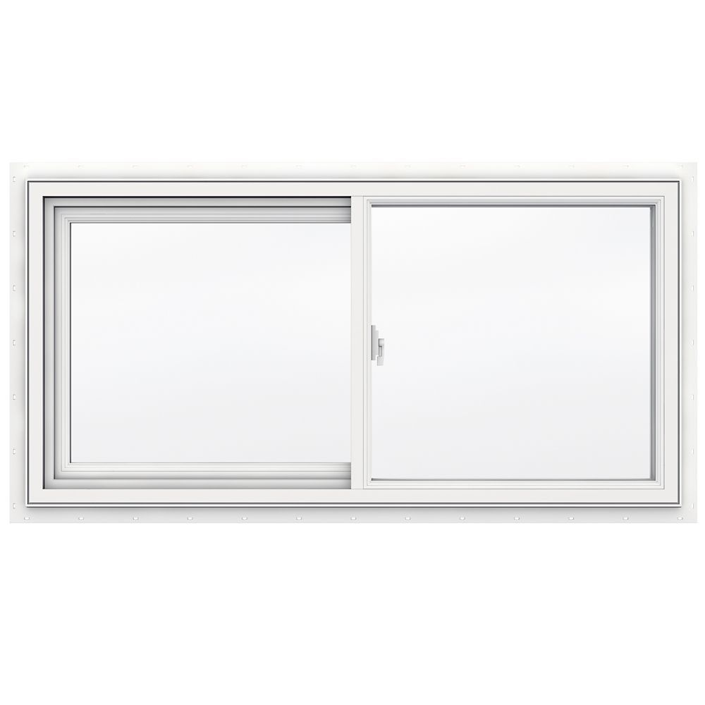 48 Inch X 24 Inch 3500 Series Sliding Vinyl Window Sliding Vinyl Windows Slider Window Window Vinyl