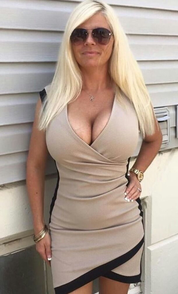 Mature in tight top