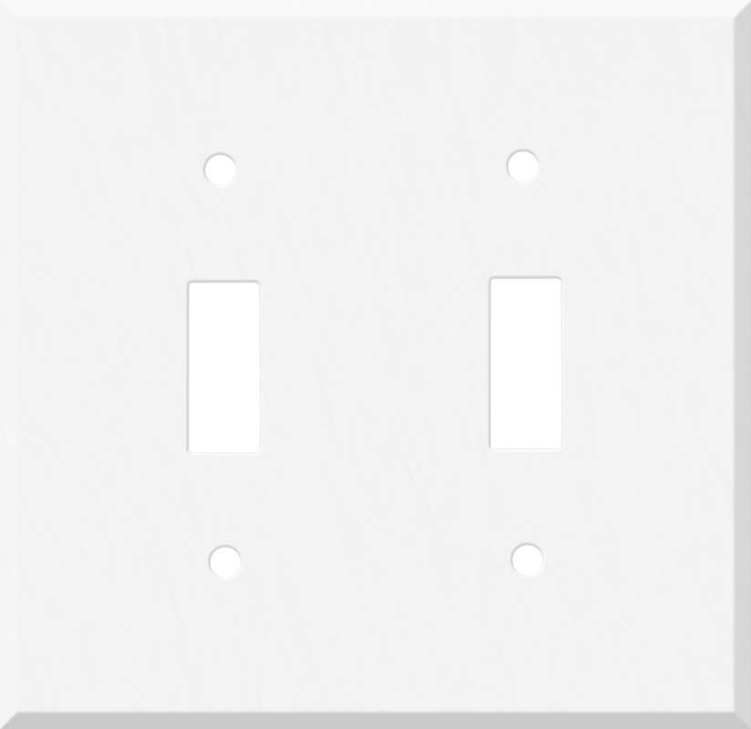 Corian Glacier White 2 Toggle Switch Plate Covers In 2020 Switch Plate Covers Corian Light Switch Plate Cover