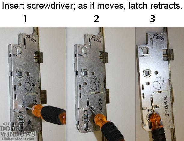 Fix Pella Door Lock Pella Storm Door Door Design