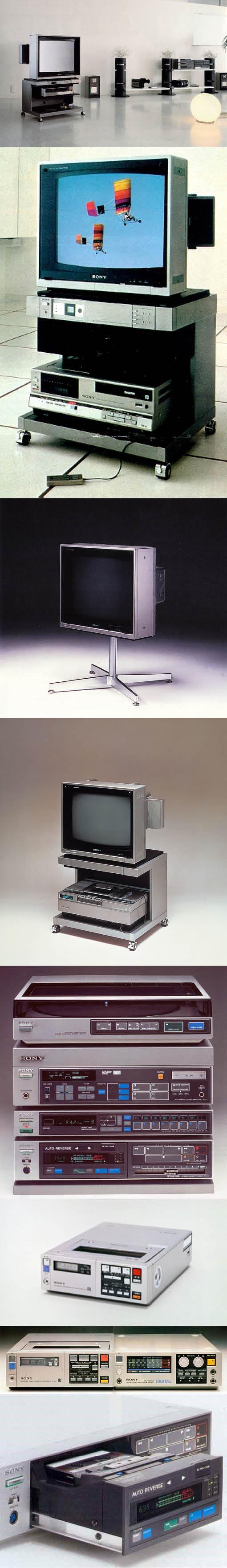 1980-1983 Sony - Profeel - Liberty - F1 / Japan / eighties / Only Sony