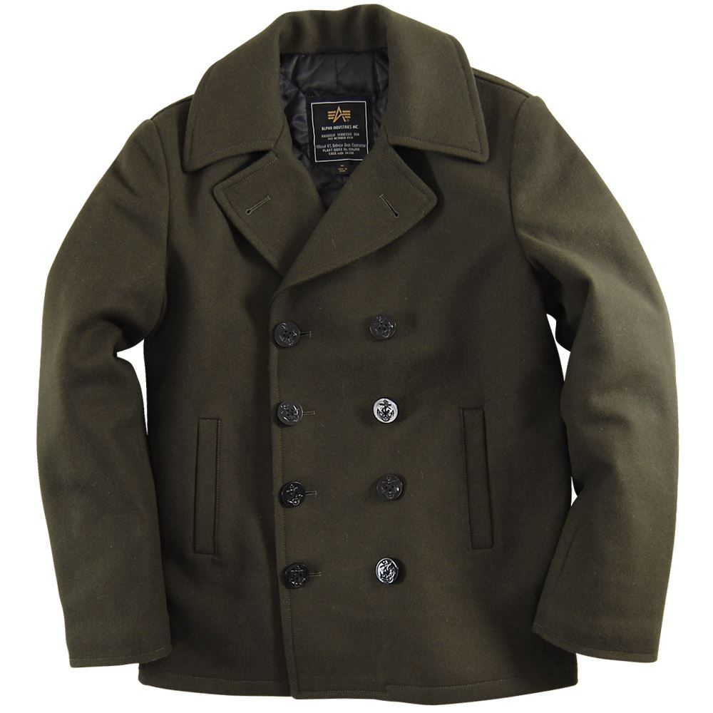 Alpha Industries Ensign Pea Coat | Style Dreams | Pinterest ...