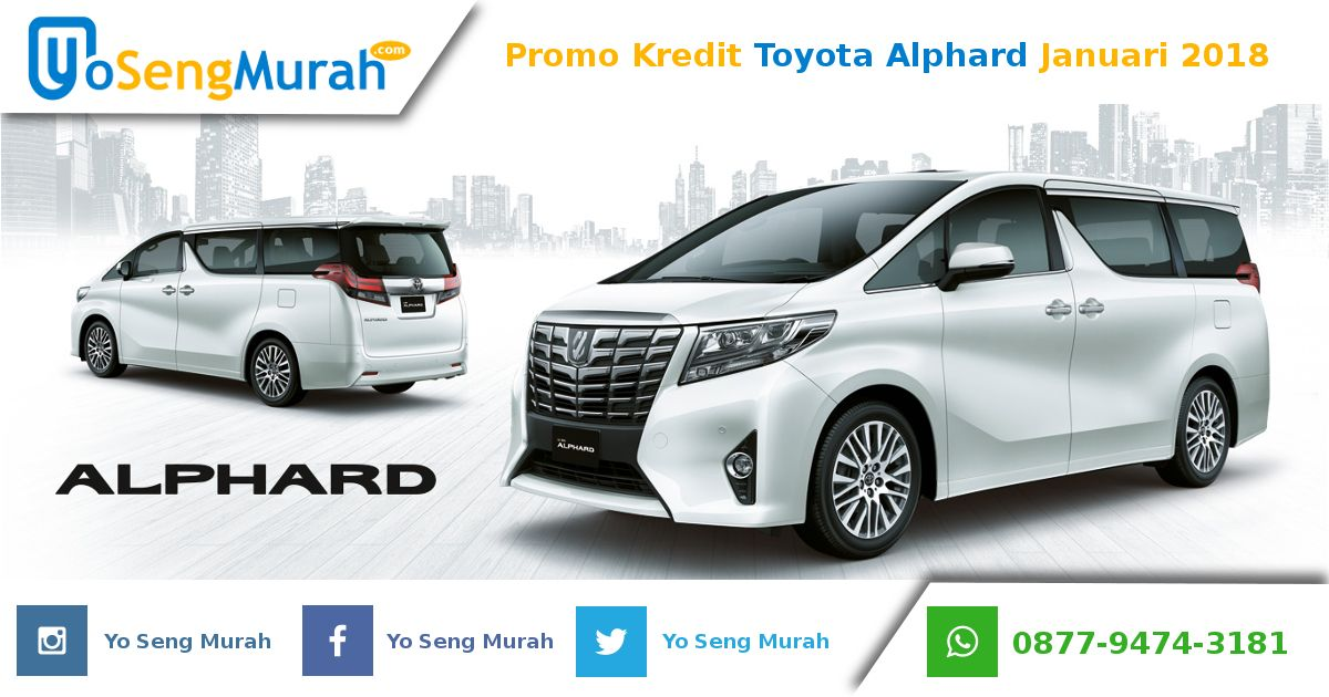 Kredit Toyota Alphard Dp Murah Januari 2018 Website