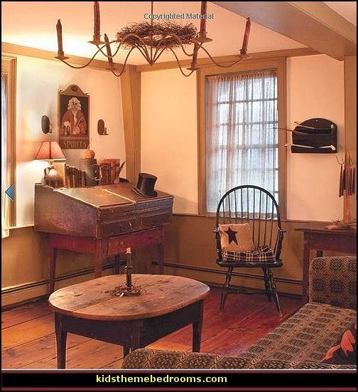 Colonial Decor: Colonial Homes American Decorating