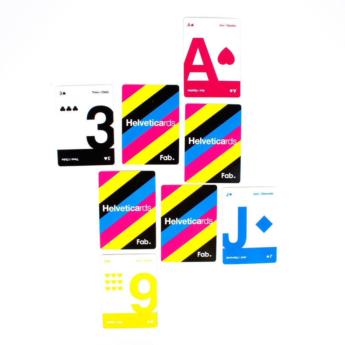 Helveticards Exclusive CMYK  by Ryan Myers
