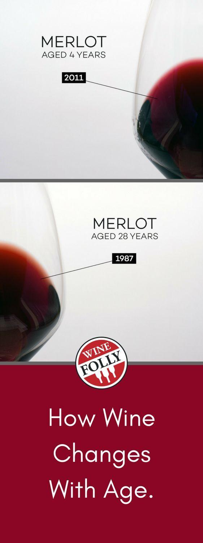 How Wines Age Wine Folly Wine Aging Wine Custom Wine Glasses