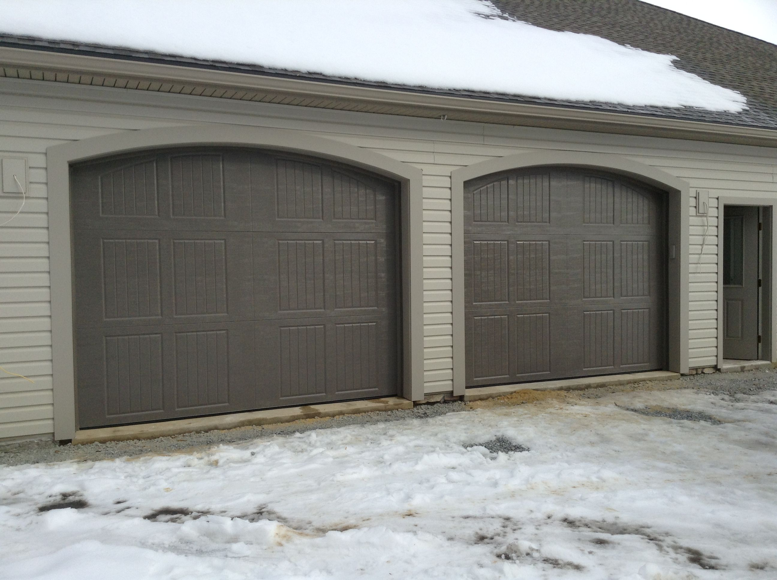 Amarr Classica Collection Garage Door In Terratone Color