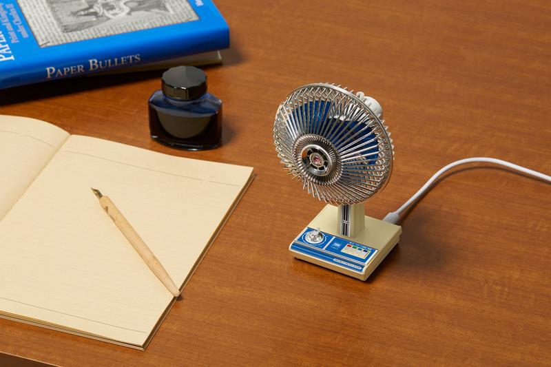 昭和がデスク上に蘇る ミニチュア雑貨の 昭和扇風機 がかわいい 雑貨 Goods インテリア 家具 扇風機 デスク