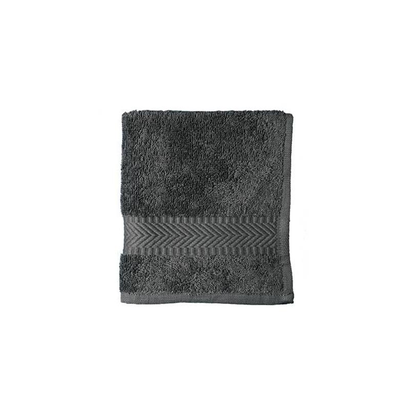 Økologisk vaskeklud, Antracite 30×30 cm Bleskift, Bio, Klude