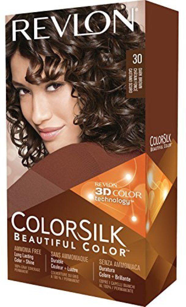 Revlon Colorsilk Hair Color 30 Dark Brown 1 Ea Pack Of 5