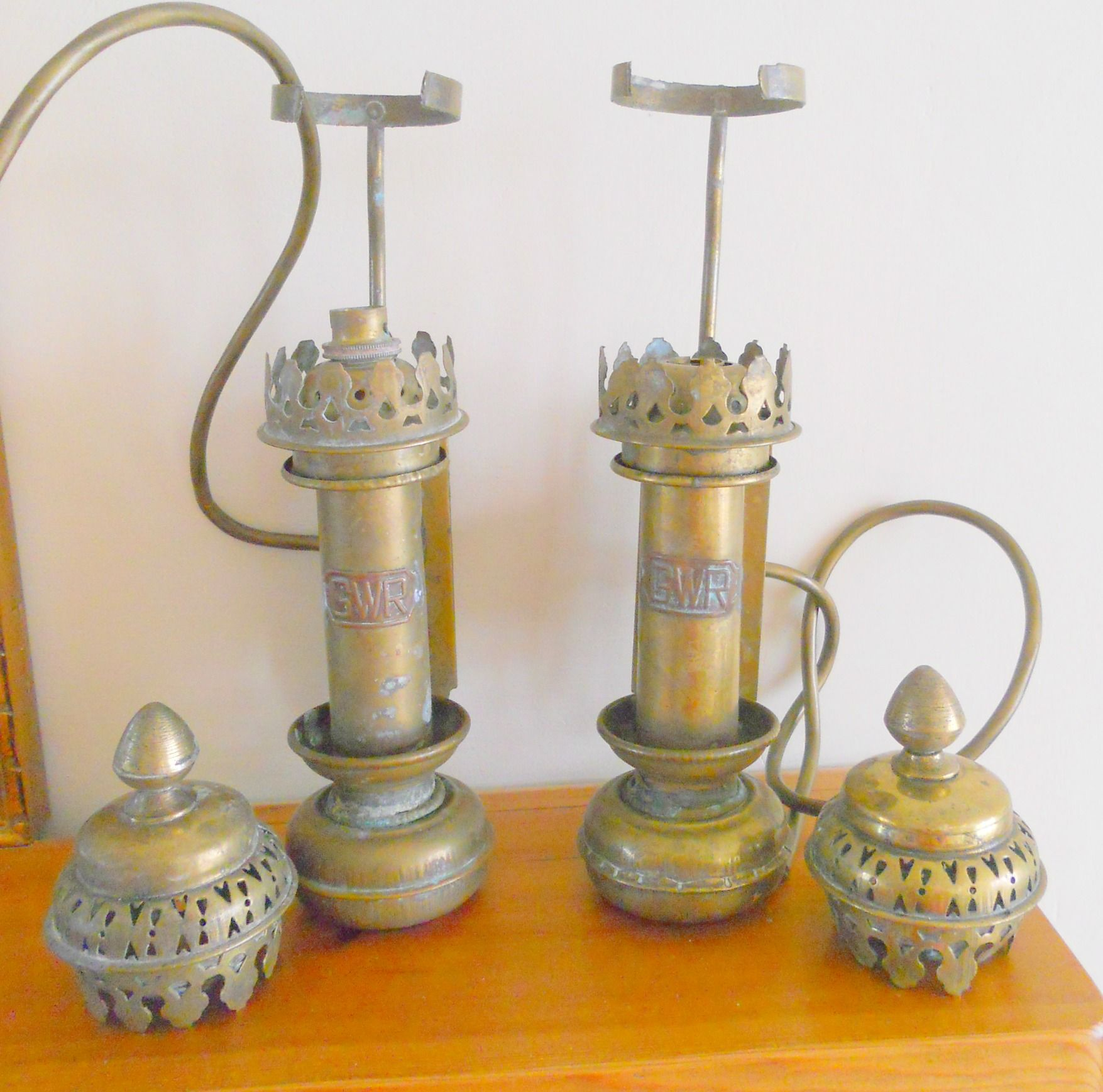Vintage Br Great Western Railways Carriage Lamps Sold On My Ebay Site Lubbydot1