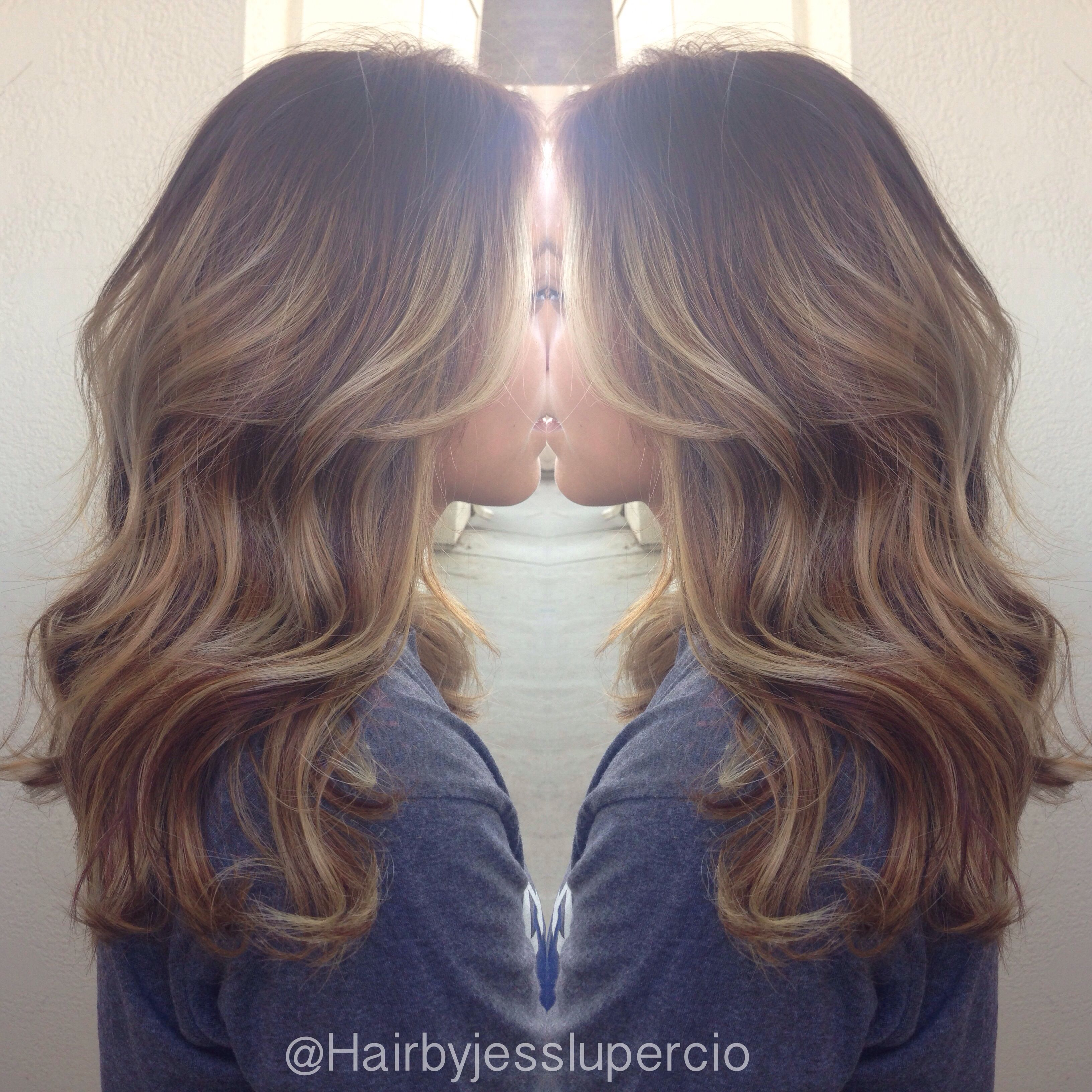 Balayage highlights with brown hair | Balayage | Brown ...