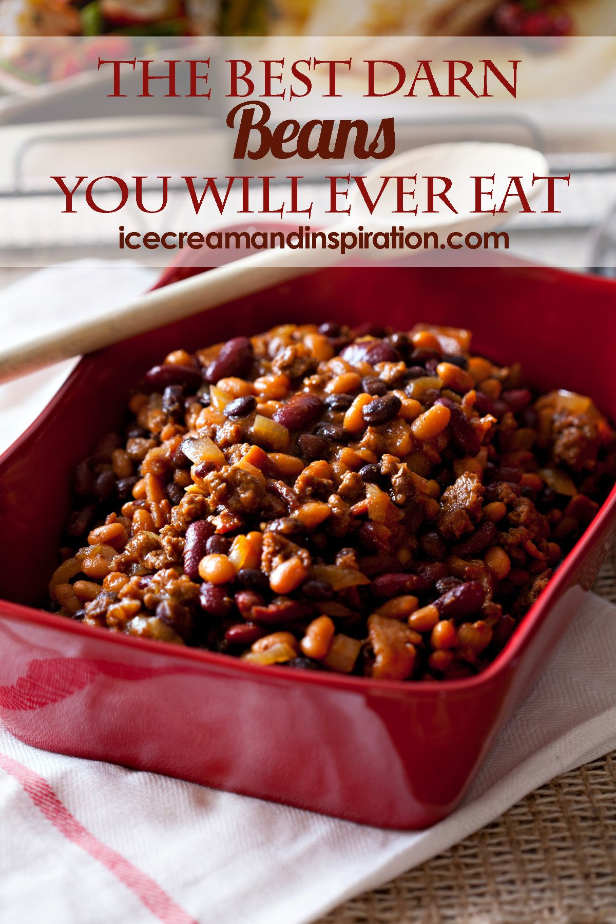 The Best Darn Beans You Will Ever Eat Beautiful Life And Home Recipe Baked Bean Recipes Bean Recipes Best Baked Beans