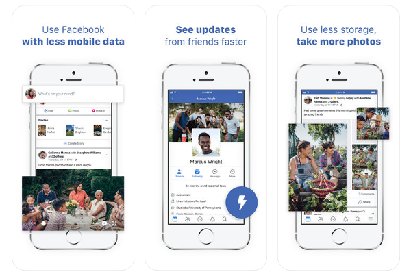 Facebook Lite app for iOS is here Ios news, Ios update, App