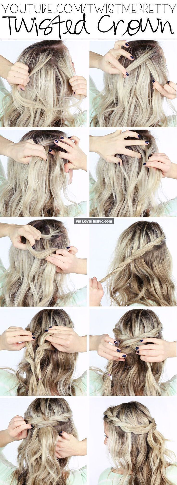 Diy Messy Bun Pictures Photos And Images For Facebook Tumblr Pinterest And Twitter Hair Styles Long Hair Tutorial Long Hair Styles