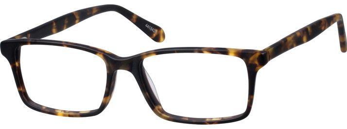 bdf14d992609 Tortoiseshell Thin Acetate Rectangle Eyeglasses  4418425