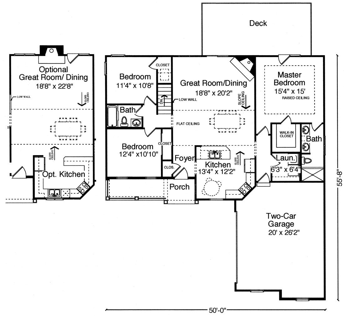 like this floor plan add some sq ft to the master bath to