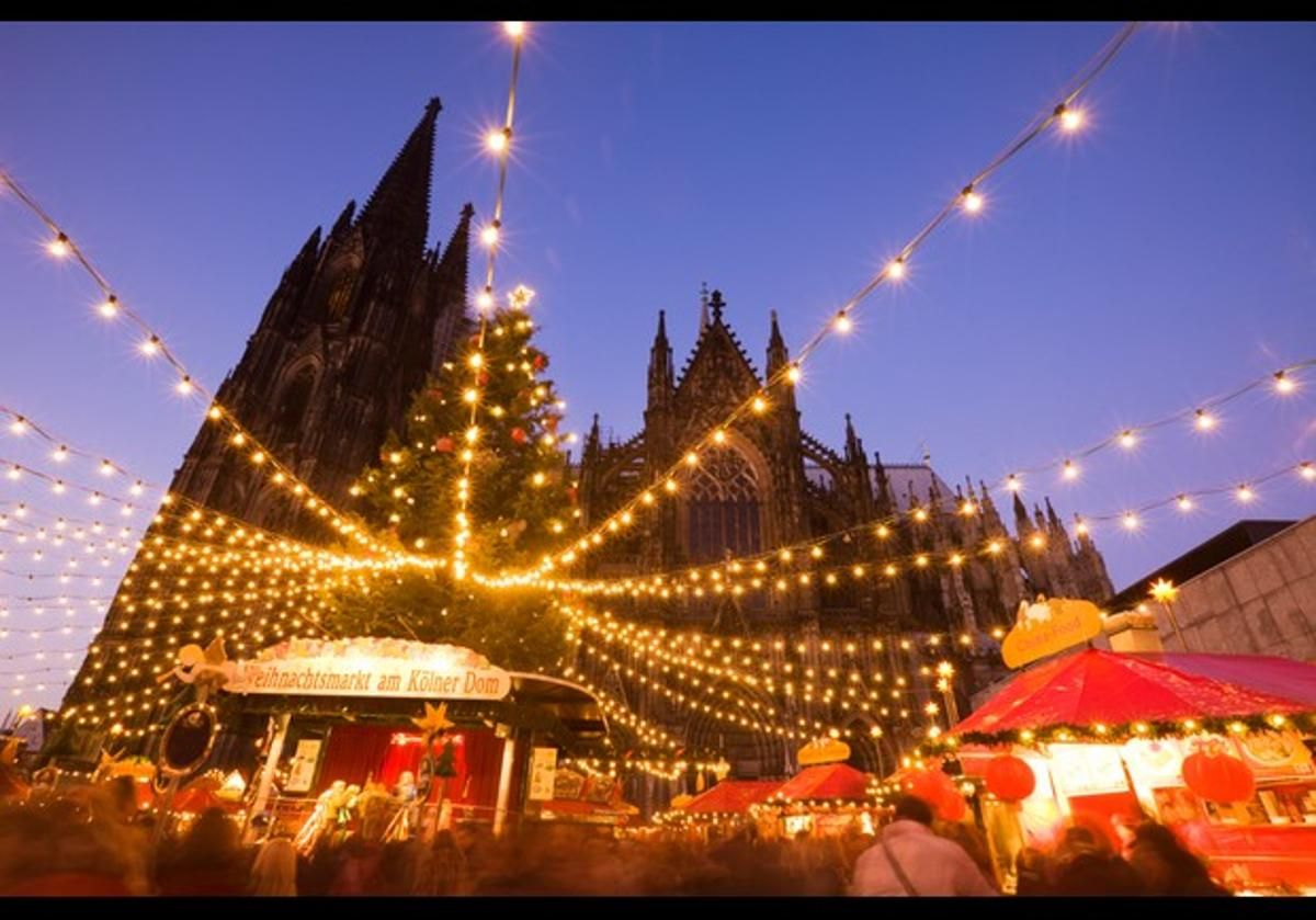 Beautiful Christmas lights and scene from Germany. Picture credit Forbes.com